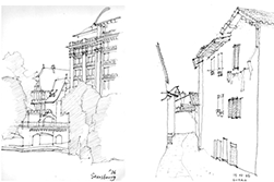 北欧から南欧までの建築や民家